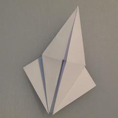 วิธีพับกระดาษเป็นรูปนกกระเรียน 007