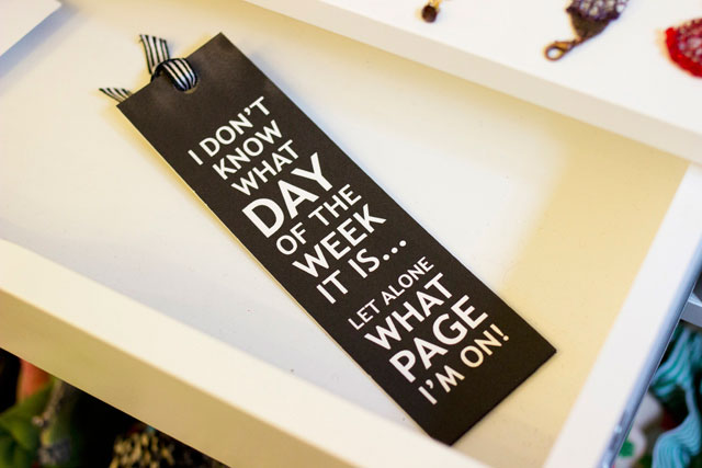 funny bookmarks