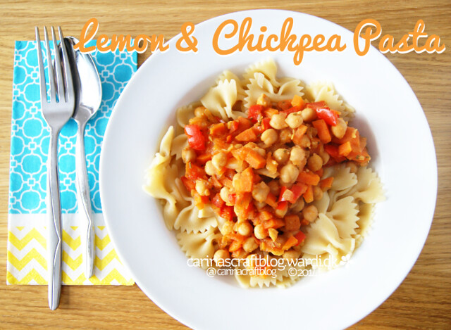 Lemon and Chickpea Pasta recipe