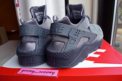 newest 3aab8 c1a19 Nike Air Huarache - Cool Grey   Dark Grey - Anthracite (318429 082) ( 14).