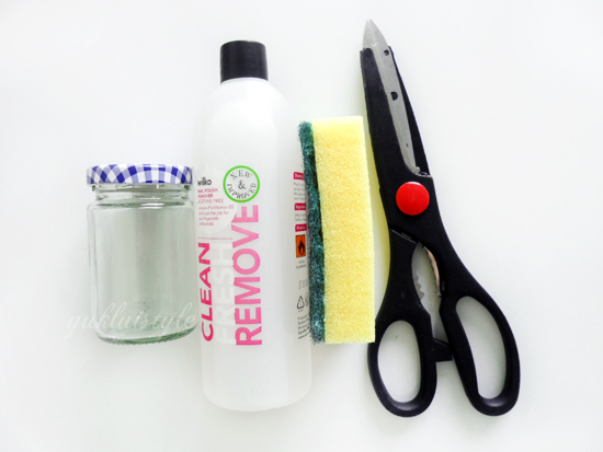 DIY Nail Polish Remover tutorial