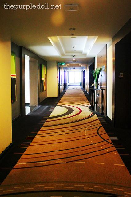 Bellevue Manila Tower Wing Hallway