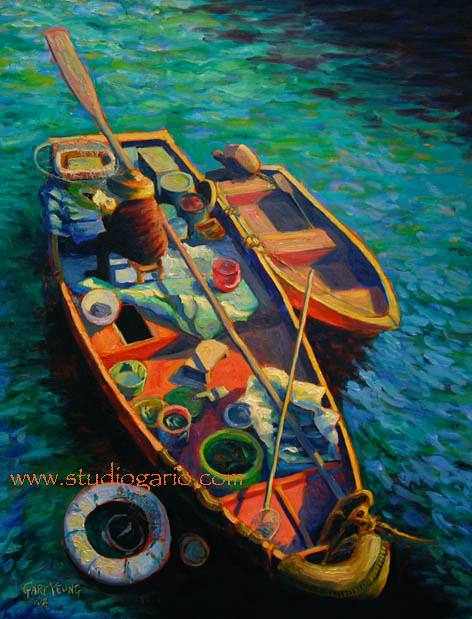 Sai Kung Boat Lady