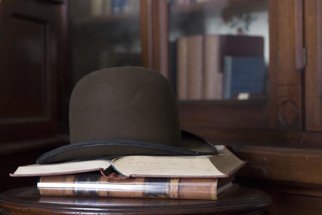 Frederick Douglass' hat