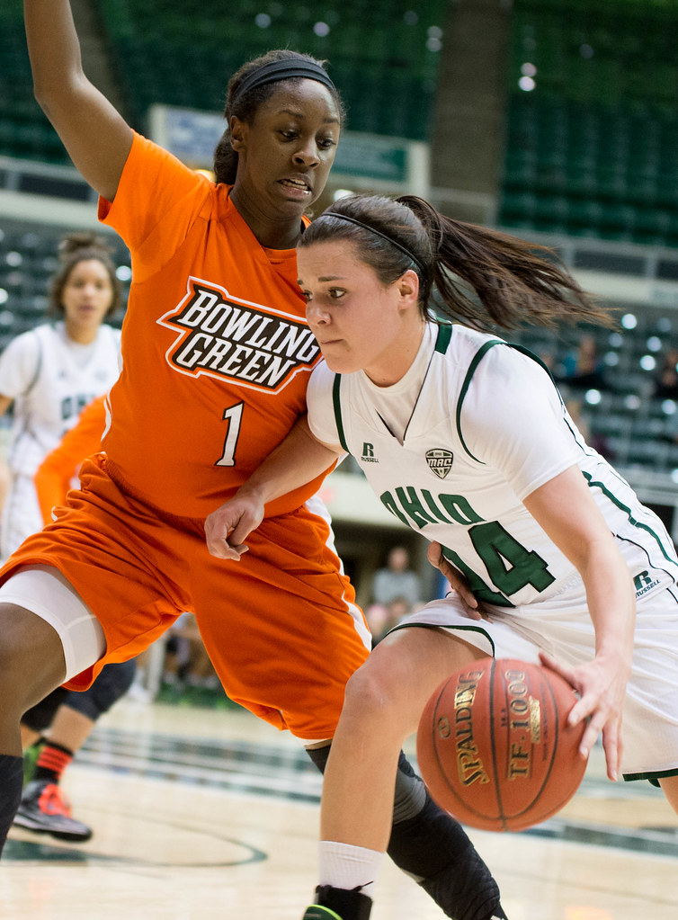 Ohio Bobcats Guard Kat Yelle