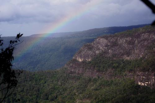 nationalpark rainbow australia lookout qld binnaburra lamingtonnationalpark