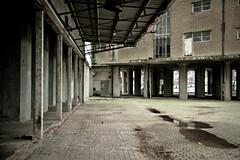 Abandoned flour factory