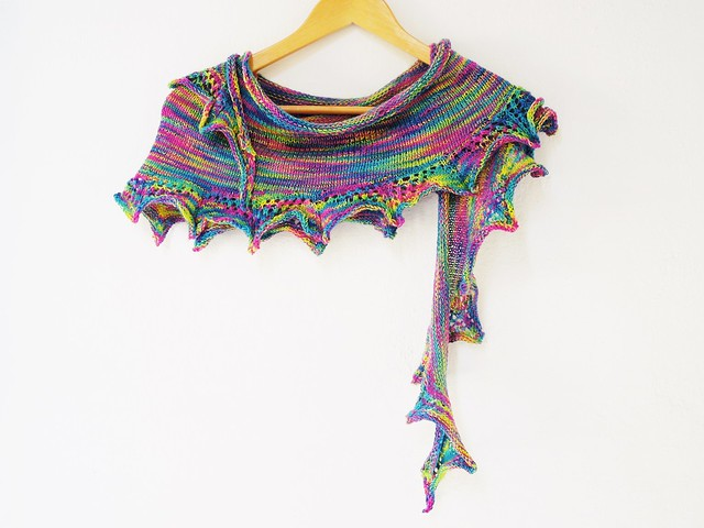 Sweet jazz shawl