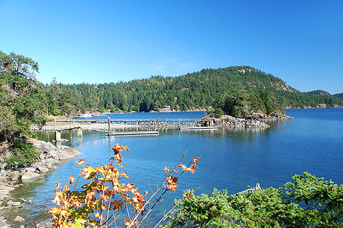 Bedwell Harbour, Pender Islands, Gulf Islands, Georgia Strait, British Columbia, Canada
