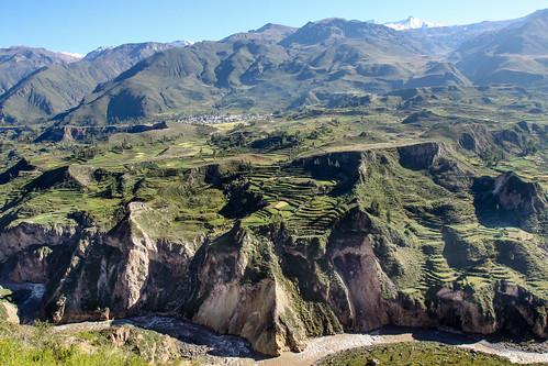 mountains green peru canyon valley lush colca andean puno lpverdant caòumahacienda