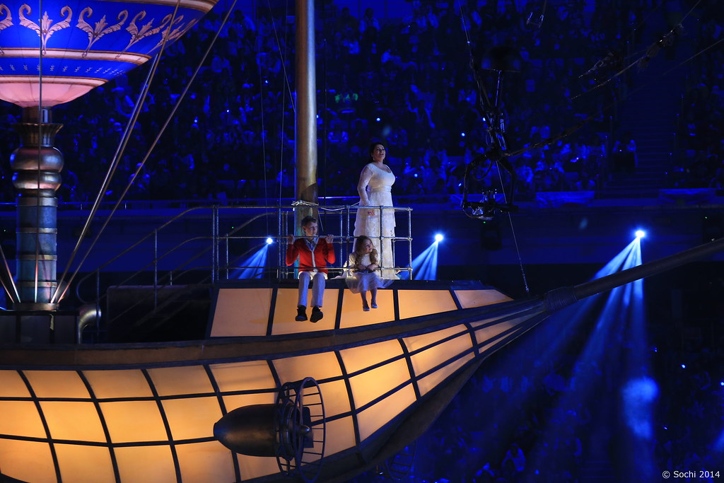 Оргкомитет Сочи 2014 - Церемония закрытия Олимпийских игр