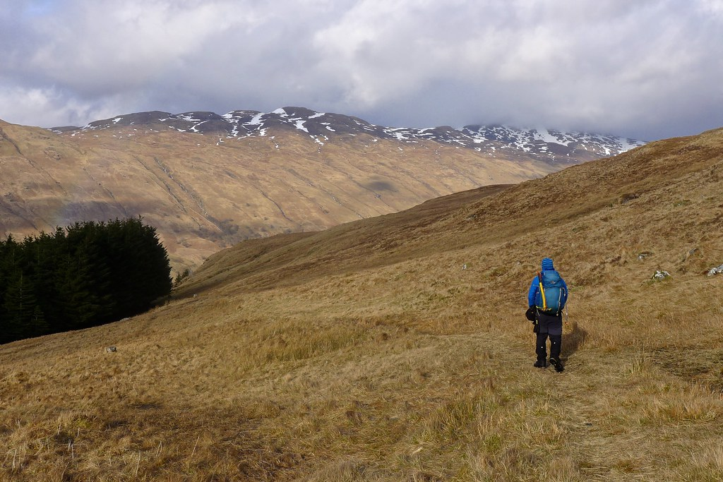 Descent to Glen Lochar