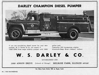 3-29-2014 Darley Champion Diesel Pumper