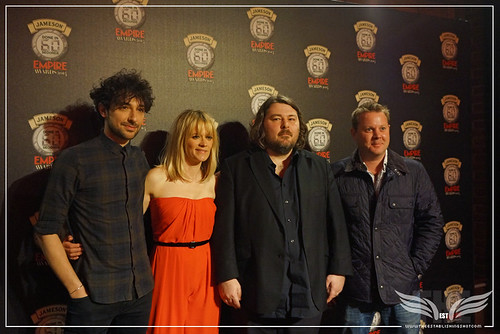 JAMESON EMPIRE DONE IN 60 SECONDS GLOBAL FINAL JUDGES ALEX ZANE, EDITH BOWMAN, BEN WHEATLEY & MARK DINNING