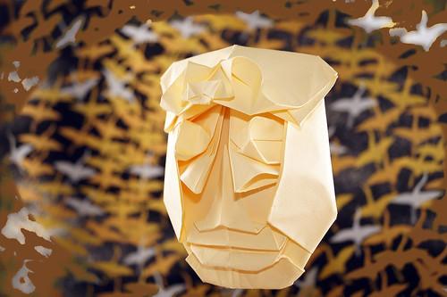 Origami 'Kendatuba'  (Tomoko Fuse)