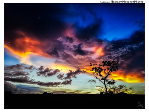 sunset brazil sky sun color brasil sunrise samsung syria ceu brasilia colorido marmarita haissammassouh