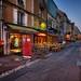 Bayeux street scene by Jim Nix / Nomadic Pursuits