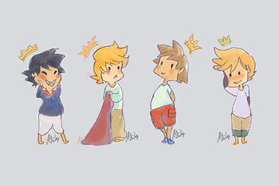 Kingdom Hearts Babies / By Whistlekaru