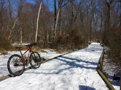 2017 Bike 180: Day 41 - It Snowed