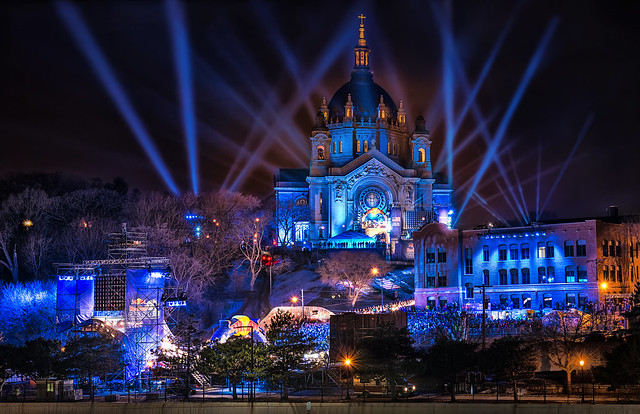 red bull crashed ice race - st. paul,mn - minnesota