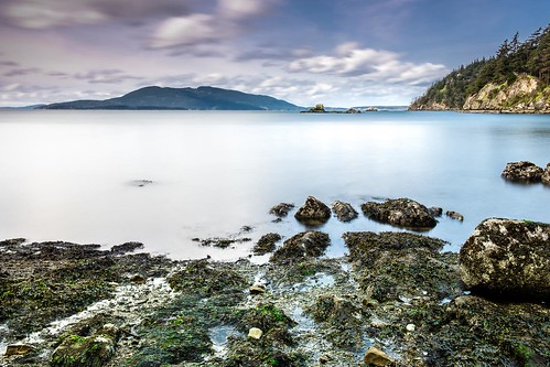 chuckanutdrive claytonbeach samishbay landscape longexposure slowshutterspeed beach lowtide seaweed trinterphotos richtrinter