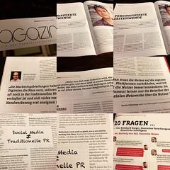 Anreize zu Lektüre #prmagazin #April