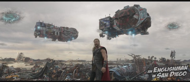 screencap - Thor Ragnarok (teaser 1) 08 (chris hemsworth, thor on sakaar)