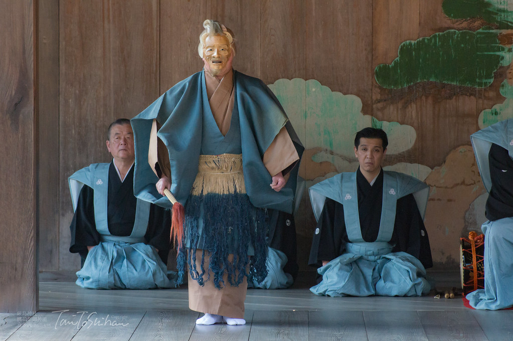 厳島神社 桃花祭御神能(喜多流)2017