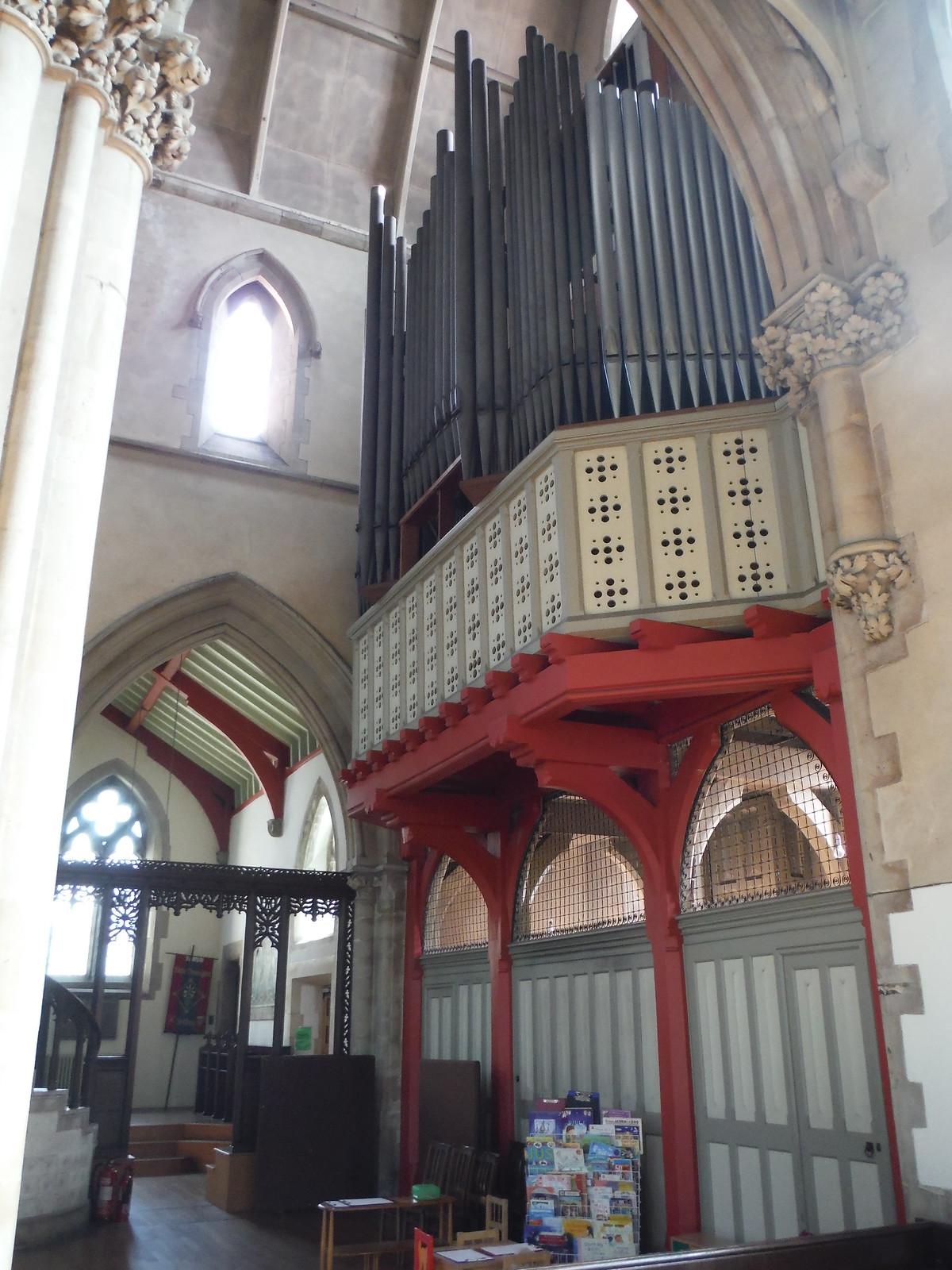 St. Mary's, Stoke Newington (Organ) SWC Short Walk 26 - Woodberry Wetlands (Stoke Newington Reservoirs)