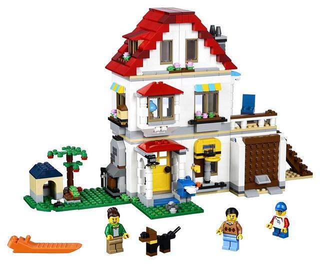 31069 Modular Family Villa 2