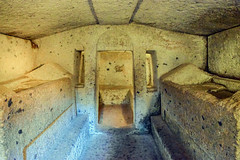 Tomba dei Letti Funebri, Grande Tumulo II, Necropolis of the Banditaccia, Cerveteri