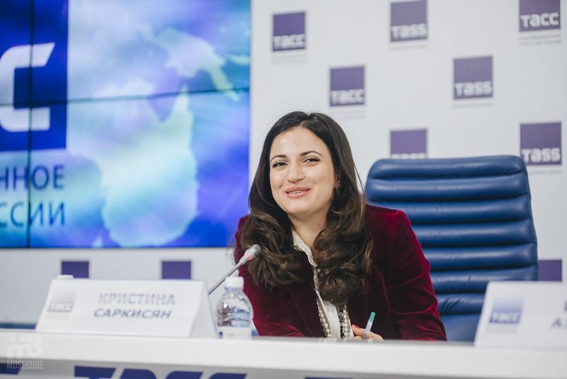 Шарль Азнавур пресс-конференция ТАСС (36)