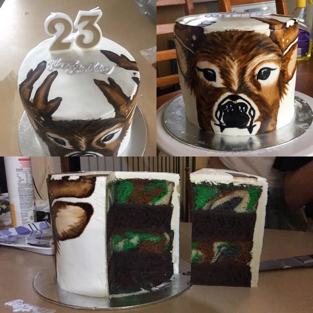 Deer Cake by Kristy Mayne of Kristy's Kakes