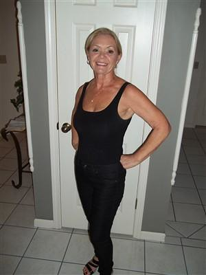 Blonde busty mature naturally
