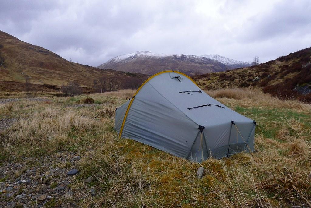Wild camping near Glen Affric