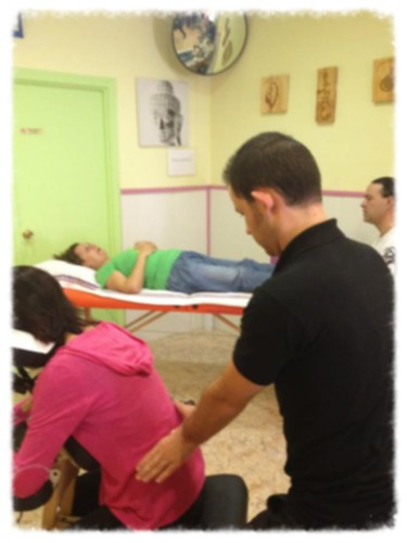 Jornada de reiki, reflexo y masaje amma en Cartagena