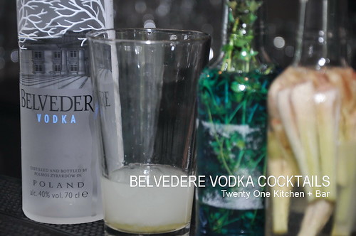 BELVEDERE VODKA COCKTAILS 3