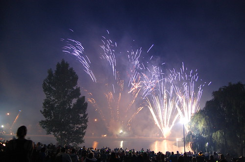 Bradley Fair Fireworks