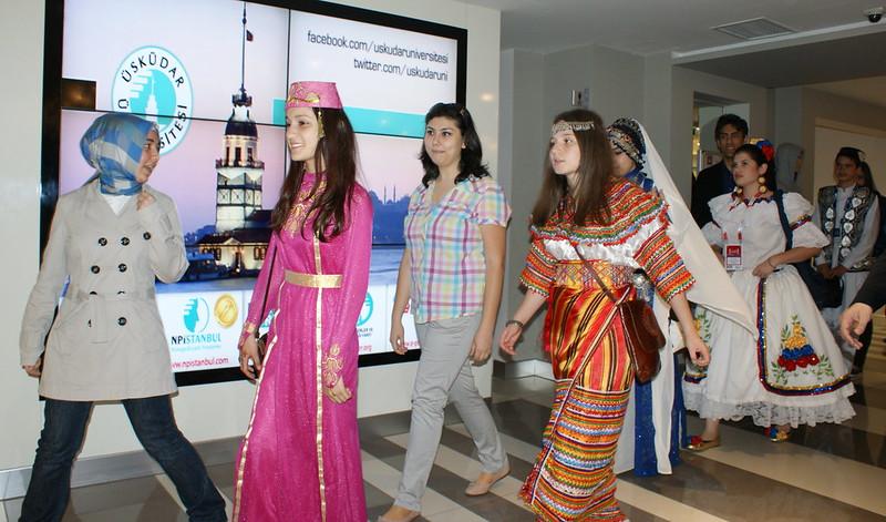 Türkçe Olimpiyatları Çocukları Üsküdar Üniversitesi'nde 2