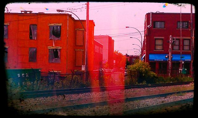 Along the Tracks | Saint-Henri (le Sud-Ouest), Montreal | 2013 | John Naccarato