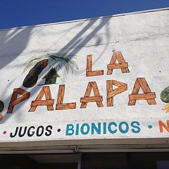 First stop: La Palapa #fig4all  for jugos, helados, etc.