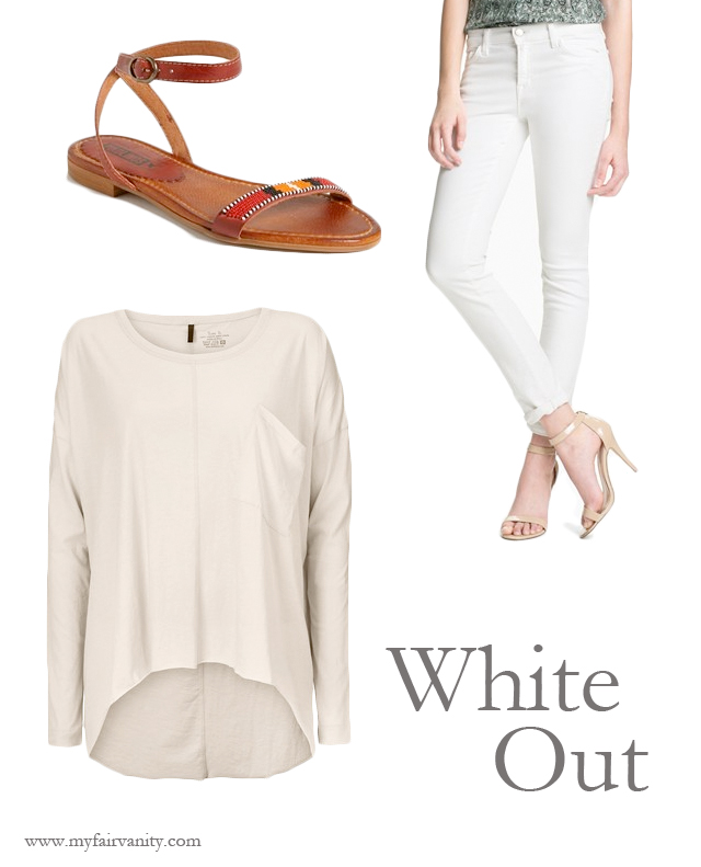 summer whites, the baand, JBrand, pikolinos, ootd, my fair vanity, get the look