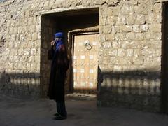 Mali. Tombuctu. Puerta de la mezquita