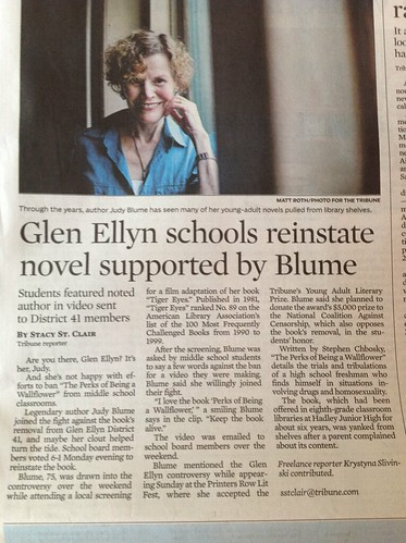 Books Returned to Glen Ellyn