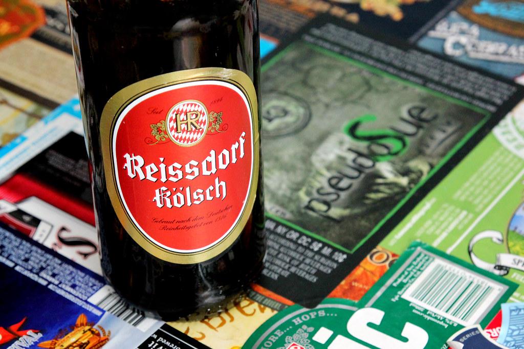 New Brew Thursday : Reissdorf Kolsch : Brauerei Heinrich Reissdorf