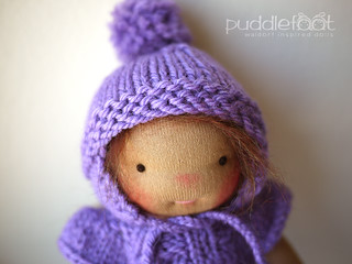 "March CUSTOM Doll Deposit: 8.5"" Puddlefoot Doll"