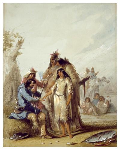 018-La novia del trampero-Alfred Jacob Miller-1858-1860-Walters Art Museum