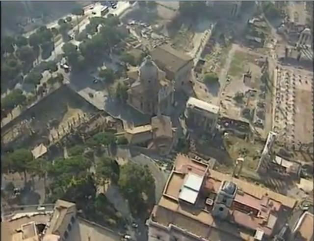 ROMA e ARCHEOLOGIA e I FORI IMPERIALI: I cantieri di scavo dei Fori Imperiali, Il Foro di Cesare & Il Templum Pacis (la fine del 1998 - inizio 1999?).