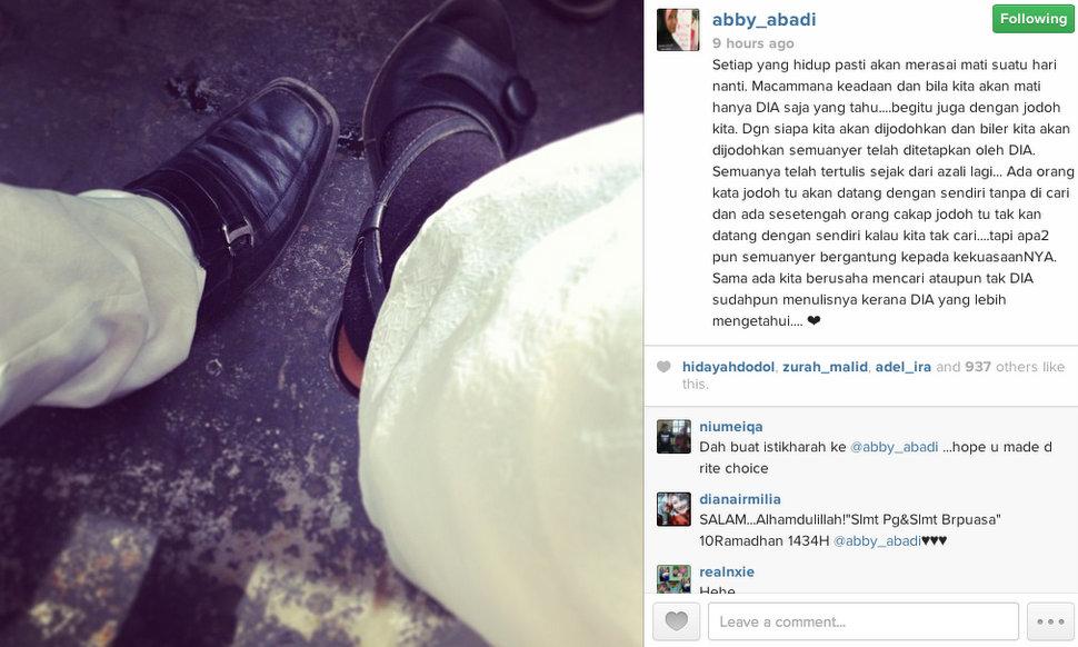 Abby Abadi Selamat Nikah