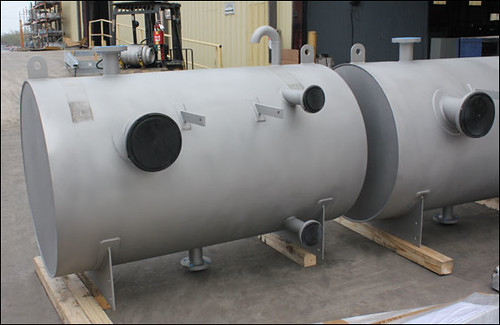 "42"" Dia. Stainless Steel Storage Tank"